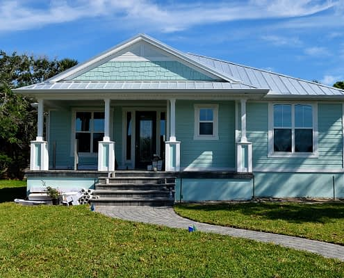 Blue Home Siding Replacement APK Restoration