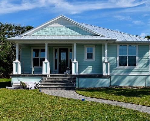 Blue Home Siding Replacement APK Restoration